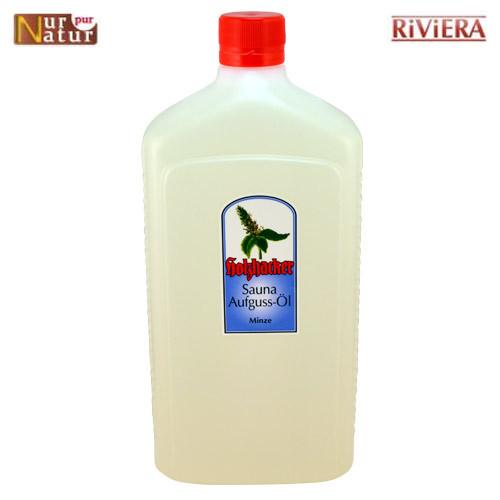 Sauna Aufguss-Öl Minze 1000 ml