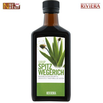 Plantain Syrup Riviera 250 ml