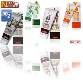 Aquarelldesign Set 4x75ml Hirschtalg, Ringelblumen, Arnika und Murmeltierölcreme 10in2