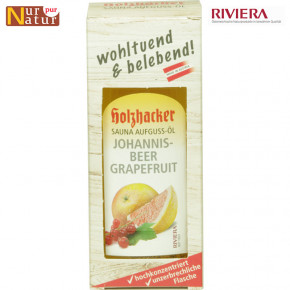 Sauna Aufguss-Öl Johannesbeer-Grapefruit 75ml (Sauna Infusion Oil)